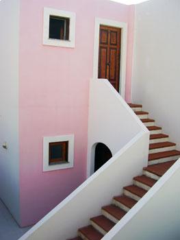 Ingresso appartamento vacanze a panarea Matalena