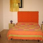camera da letto casa vacanza a stromboli
