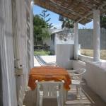 patio casa vacanza a stromboli