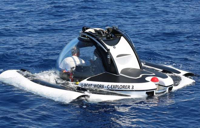 Isole Eolie: Esplorazione di 3 relitti con il sommergibile Explorer 3!